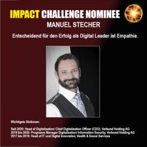 Manuel Stecher Verbund Nominierter Impact Challenge