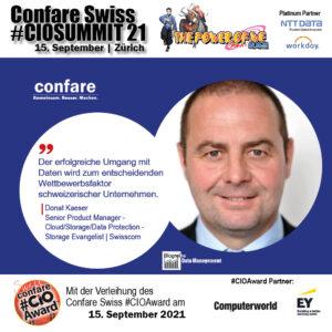Donat Kaeser, Swisscom