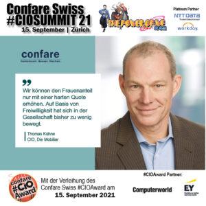 Thomas Kühne, CIO Die Mobiliar