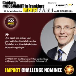Ulf Hallmann Nominierter der Impact Challenge