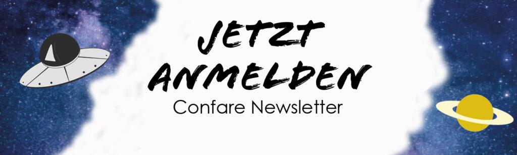 Confare Newsletter Anmeldung
