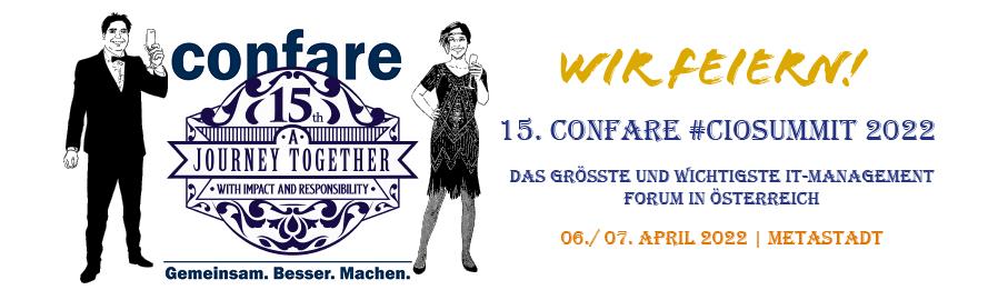 Confare #CIOSUMMIT 2022 Wien