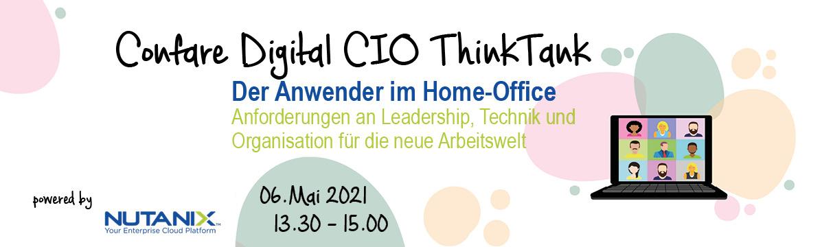 Diigital CIO Thinktank: Der Anwender im Home-Office