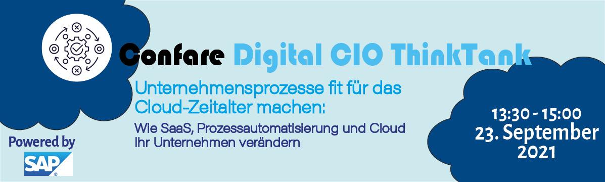 Digital CIO Think Tank powered by SAP