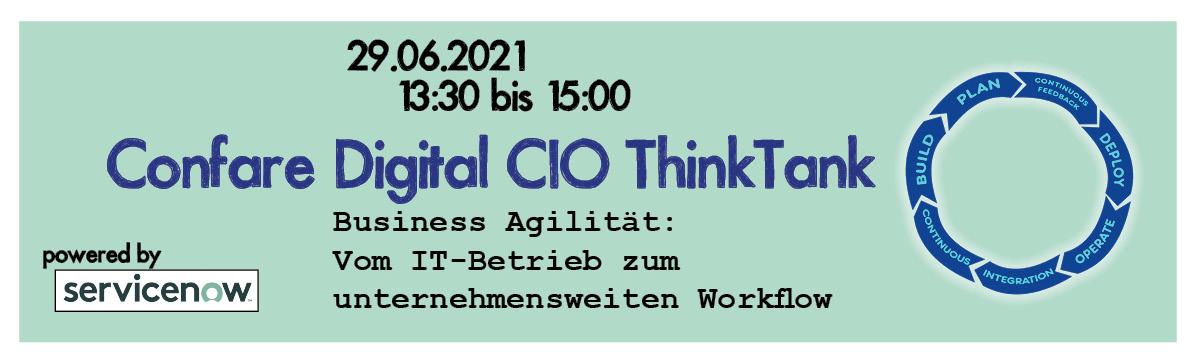 Digital CIO Thinktank Servicenow