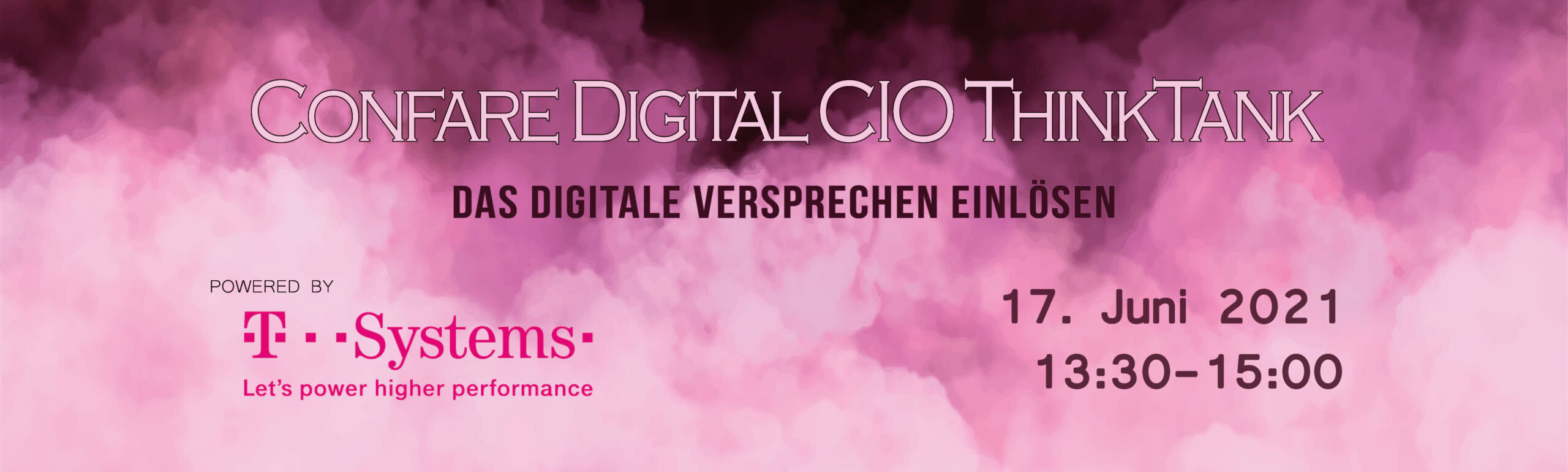 Header T-Systems Webcast Das digitale Versprechen